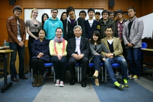 Dr. Cho's Information Sociology Class