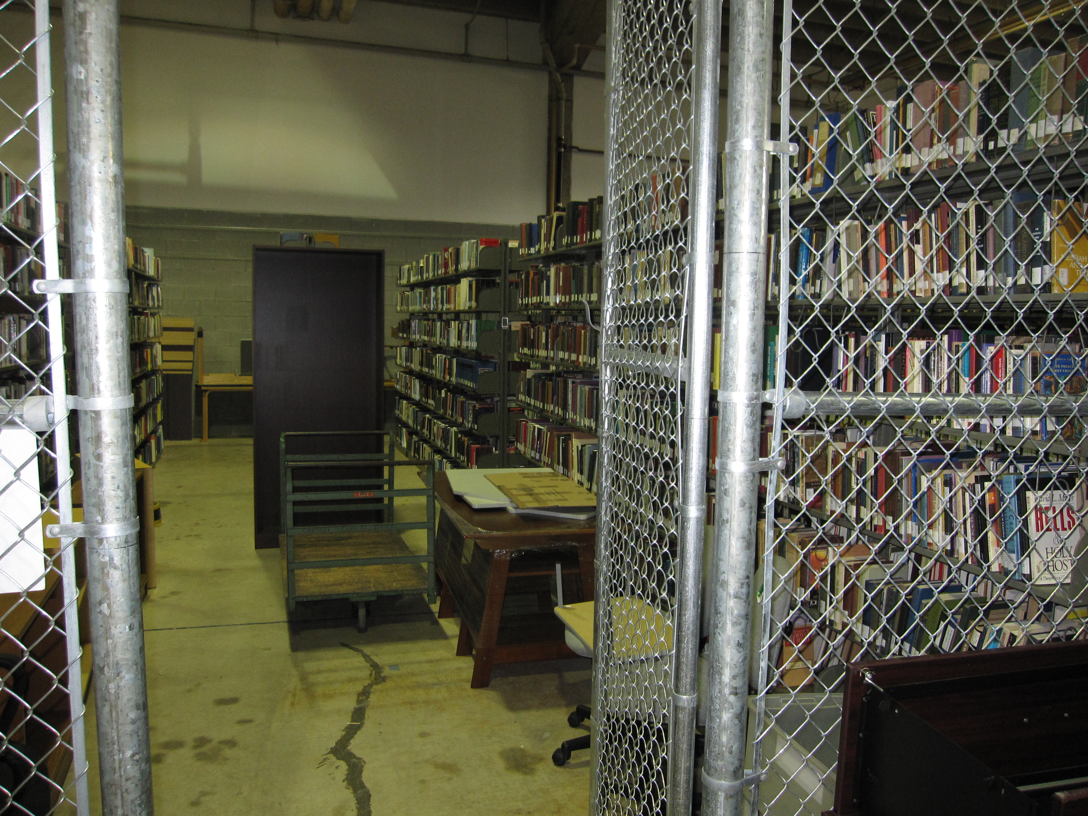 Library storage at Valley Forge