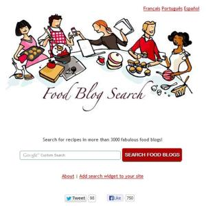 Food Blog Search