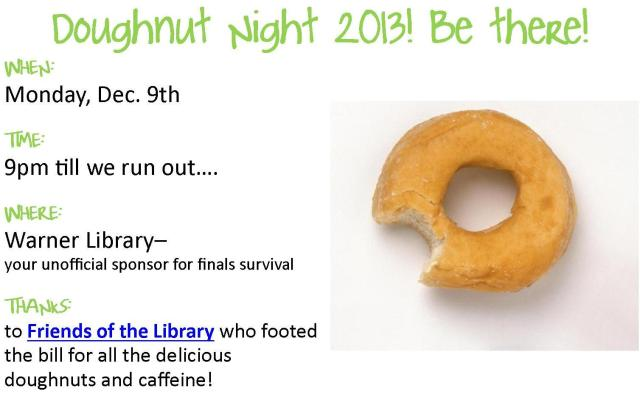 Doughnut Night