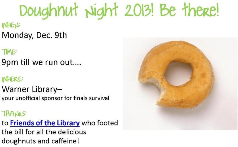 Doughnut Night