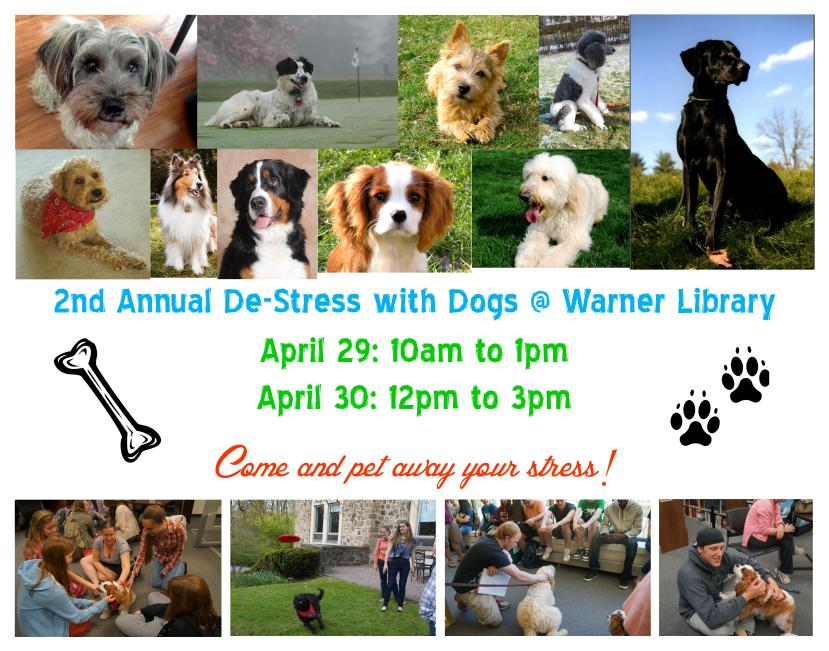 De-stress With Dogs 2014