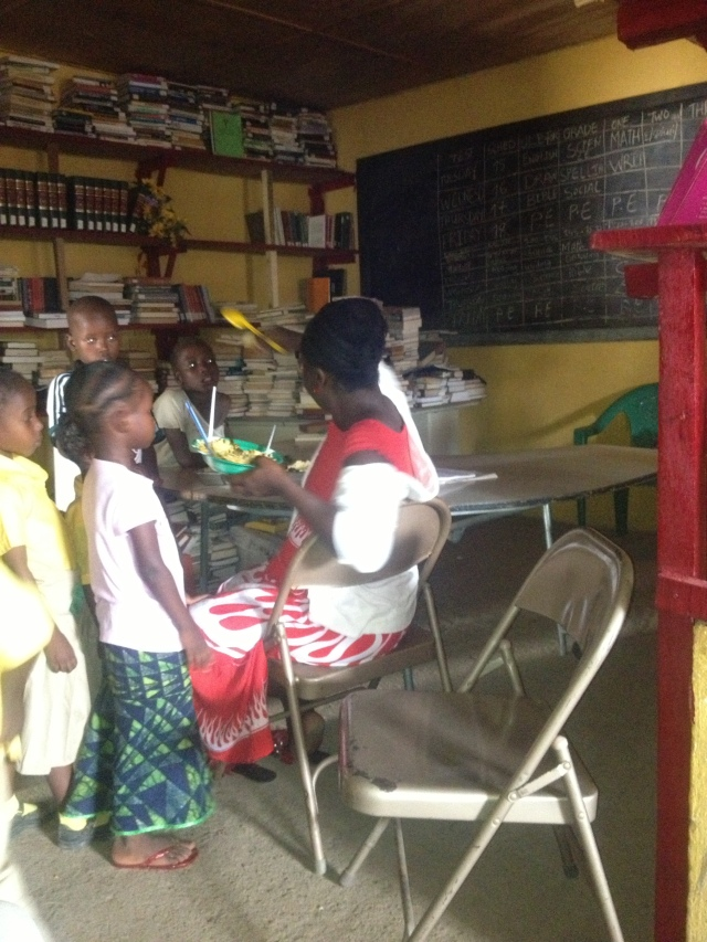 Olivia S. Washington School's  of  Liberia
