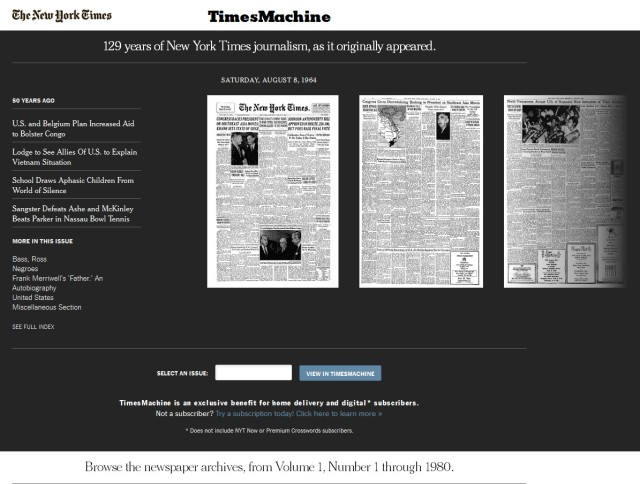 TimesMachine