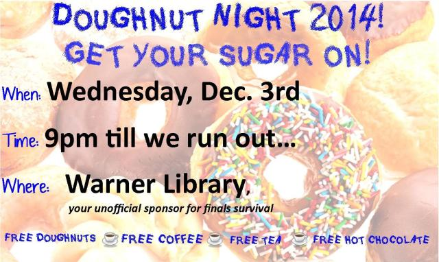 Doughnut Night 2014
