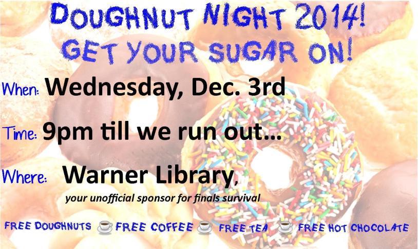 Doughnut Night 2014