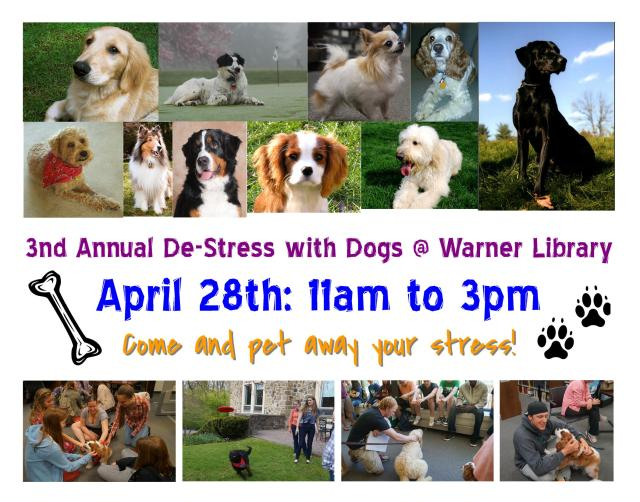 De-stress With Dogs 2015
