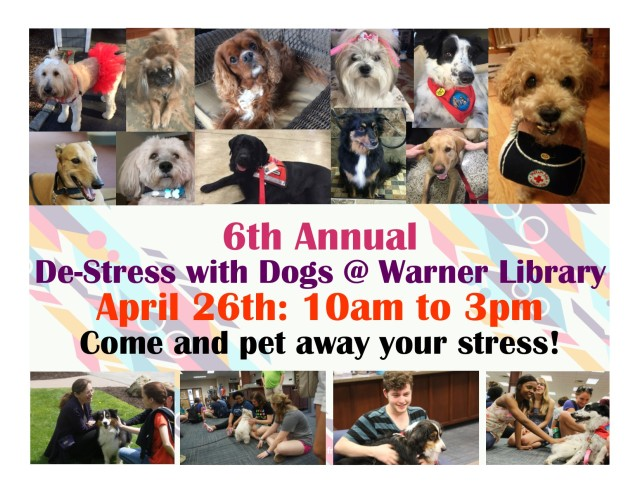 De-stress With Dogs 2018 Flyer