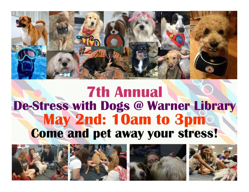 De-stress With Dogs 2019 Flyer